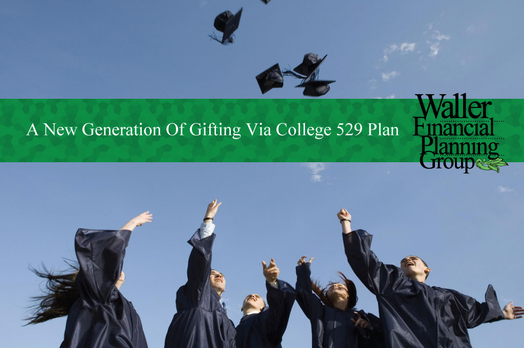 Gifting to a college 529 plan