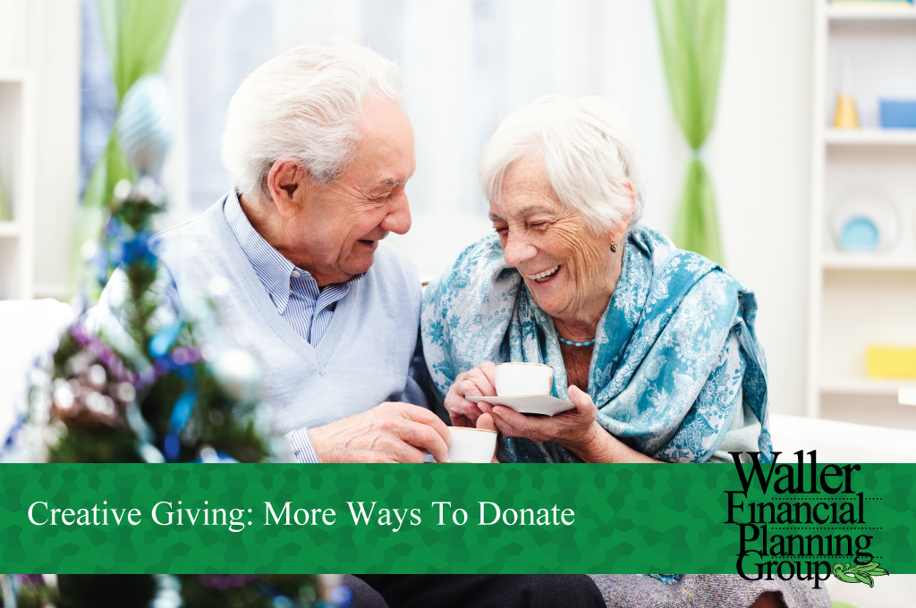 creative ways to donate