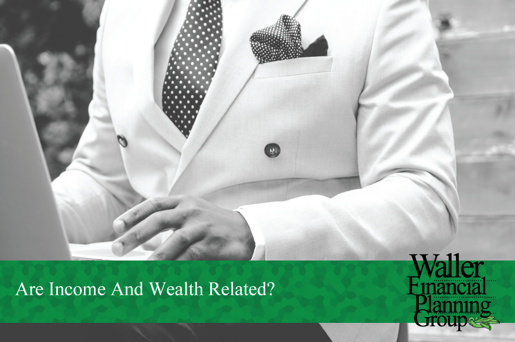 Are income and wealth related?