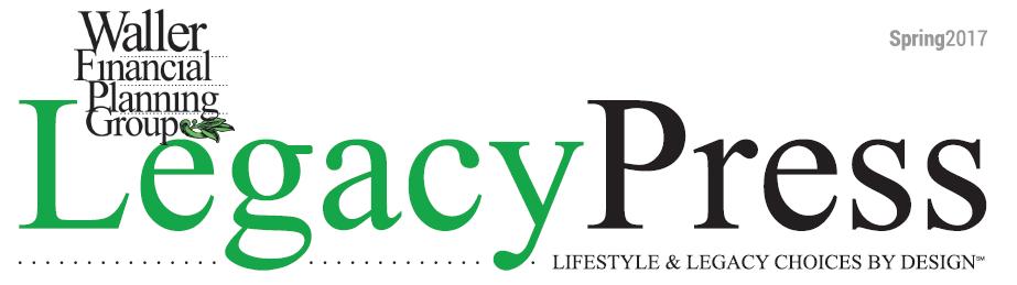 Legacy Press Newsletter Spring 2017
