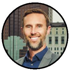 Chris Olsgard, Jason Farris, advisor at Waller Financial
