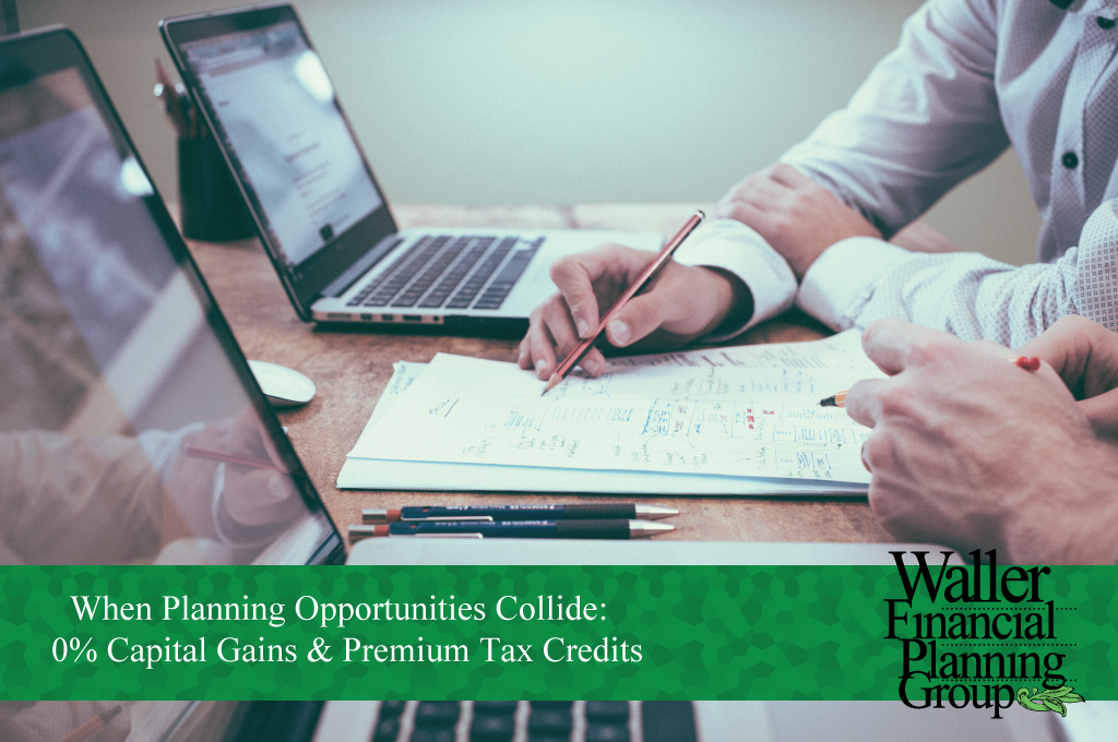 How 0% Capital Gains & Premium Tax Credits do not work together