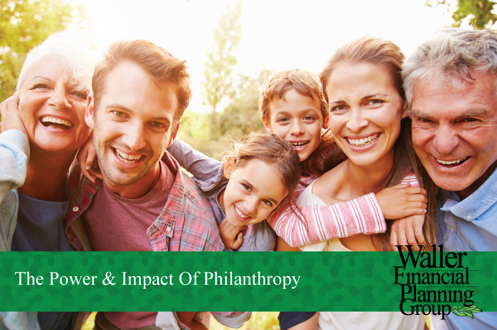 The impact philanthropy has on people