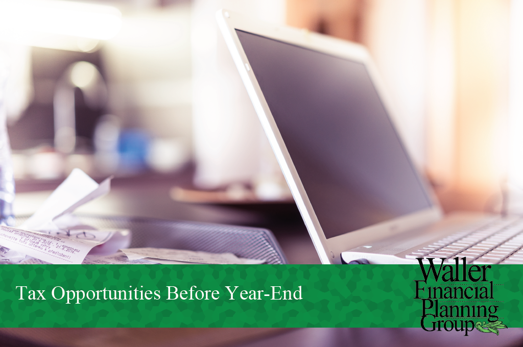 Tax Opportunities Before Year-End